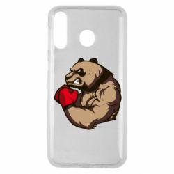 Чехол для Samsung M30 Panda Boxing