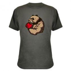 Камуфляжная футболка Panda Boxing - FatLine