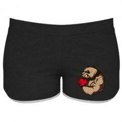 Женские шорты Panda Boxing