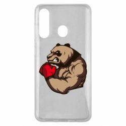 Чехол для Samsung M40 Panda Boxing