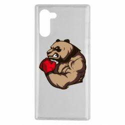 Чехол для Samsung Note 10 Panda Boxing