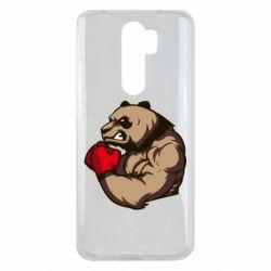 Чехол для Xiaomi Redmi Note 8 Pro Panda Boxing