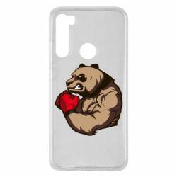 Чехол для Xiaomi Redmi Note 8 Panda Boxing