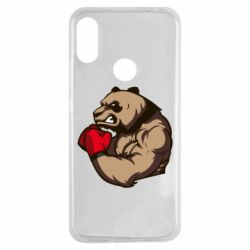 Чехол для Xiaomi Redmi Note 7 Panda Boxing