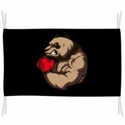 Флаг Panda Boxing
