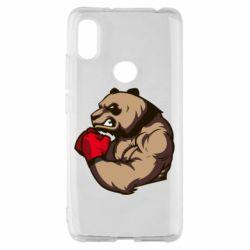 Чехол для Xiaomi Redmi S2 Panda Boxing