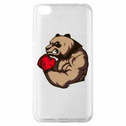 Чехол для Xiaomi Redmi Go Panda Boxing