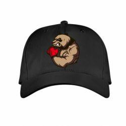 Детская кепка Panda Boxing - FatLine