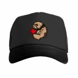 Кепка-тракер Panda Boxing - FatLine