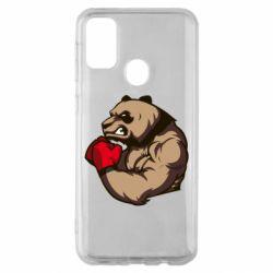 Чехол для Samsung M30s Panda Boxing