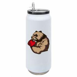 Термобанка 500ml Panda Boxing