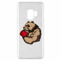 Чехол для Samsung S9 Panda Boxing