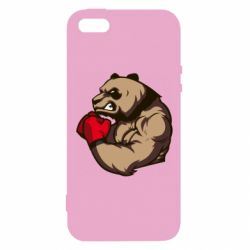Чехол для iPhone5/5S/SE Panda Boxing