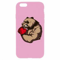 Чехол для iPhone 6/6S Panda Boxing