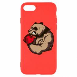 Чехол для iPhone 8 Panda Boxing