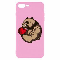 Чехол для iPhone 8 Plus Panda Boxing