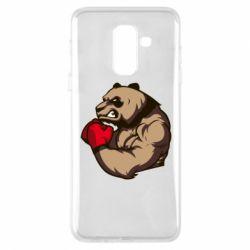 Чехол для Samsung A6+ 2018 Panda Boxing