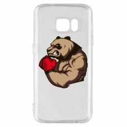 Чехол для Samsung S7 Panda Boxing