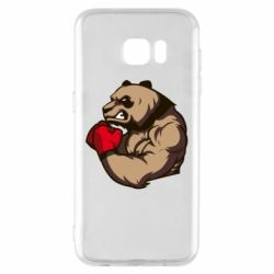 Чехол для Samsung S7 EDGE Panda Boxing