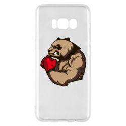 Чехол для Samsung S8 Panda Boxing