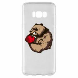 Чехол для Samsung S8+ Panda Boxing
