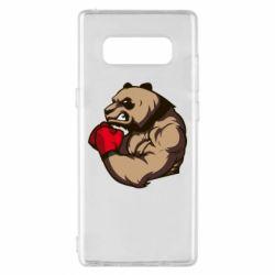 Чехол для Samsung Note 8 Panda Boxing