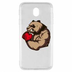 Чехол для Samsung J7 2017 Panda Boxing