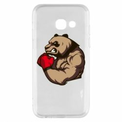 Чехол для Samsung A3 2017 Panda Boxing