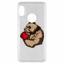 Чехол для Xiaomi Redmi Note 5 Panda Boxing