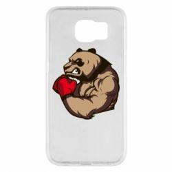 Чехол для Samsung S6 Panda Boxing