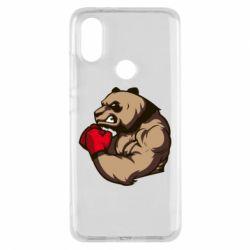 Чехол для Xiaomi Mi A2 Panda Boxing