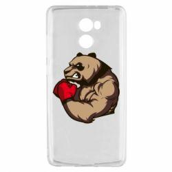 Чехол для Xiaomi Redmi 4 Panda Boxing
