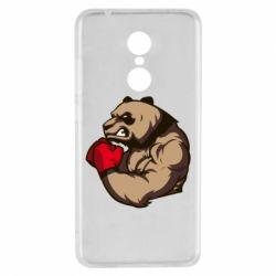 Чехол для Xiaomi Redmi 5 Panda Boxing