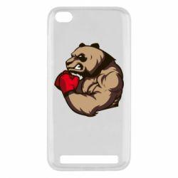 Чехол для Xiaomi Redmi 5a Panda Boxing