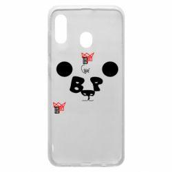 Чохол для Samsung A20 Panda BP