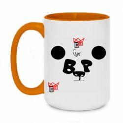 Кружка двоколірна 420ml Panda BP