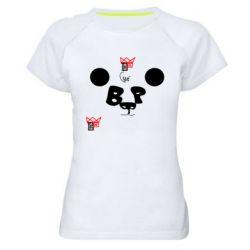 Жіноча спортивна футболка Panda BP