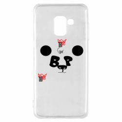 Чохол для Samsung A8 2018 Panda BP