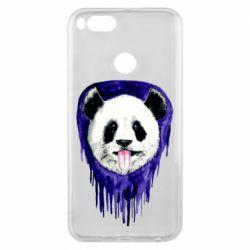 Чехол для Xiaomi Mi A1 Panda on a watercolor stain