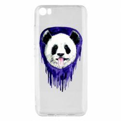 Чехол для Xiaomi Mi5/Mi5 Pro Panda on a watercolor stain