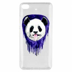 Чехол для Xiaomi Mi 5s Panda on a watercolor stain