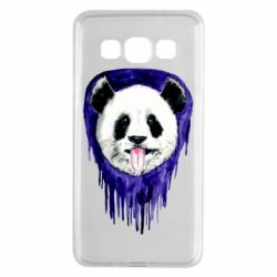 Чехол для Samsung A3 2015 Panda on a watercolor stain