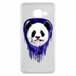 Чехол для Samsung A3 2016 Panda on a watercolor stain