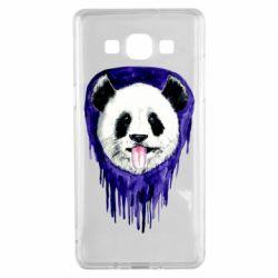 Чехол для Samsung A5 2015 Panda on a watercolor stain