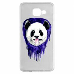 Чехол для Samsung A5 2016 Panda on a watercolor stain