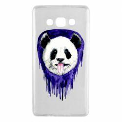 Чехол для Samsung A7 2015 Panda on a watercolor stain