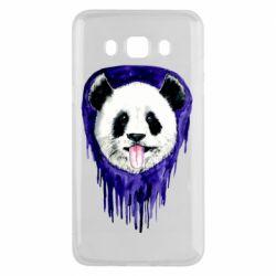 Чехол для Samsung J5 2016 Panda on a watercolor stain