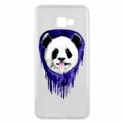 Чехол для Samsung J4 Plus 2018 Panda on a watercolor stain