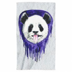 Полотенце Panda on a watercolor stain