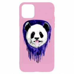 Чехол для iPhone 11 Pro Max Panda on a watercolor stain